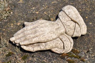 Hände die beten