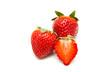 fresa aislada con fondo blanco