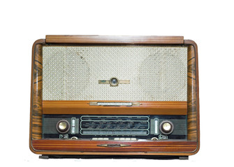 Ancient radio receiver
