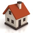 house icon 3d illustration