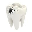 Detaily fotografie zubů 3d koncepce
