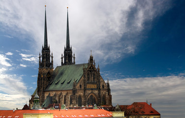 Cathedral Petrov in Brno