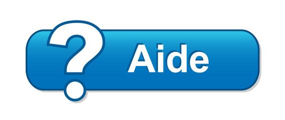 """Bouton Web """"AIDE"""" (assistance support technique service clients)"""