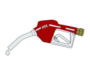 Pistola pompa di benzina