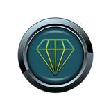 bijou diamant picto bouton icône internet web site symbole poster