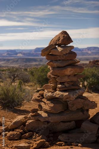 Desert Cairn