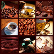 canvas print picture Coffee collage