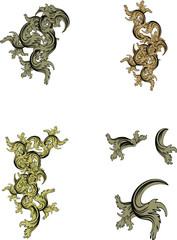 heraldic ornaments