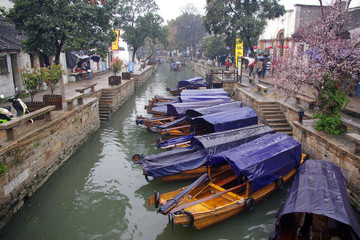 Water village in China