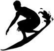 Icona di surfista