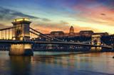 Budapest at sunset. - 30180676