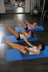 Frauen im Fitness Studio