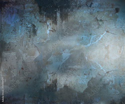 Dark Grunge Abstract Textured Background