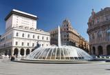 Piazza De Ferrari, Genova - De Ferrari square, Genoa, Italy