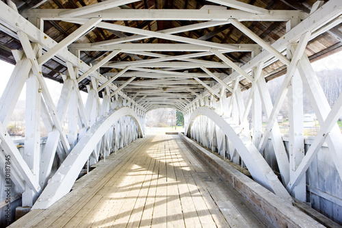 Groveton Covered Bridge (1852), New Hampshire, USA - 30187845