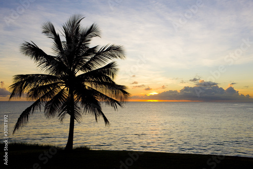 sunset over Caribbean Sea, Barbados © PHB.cz