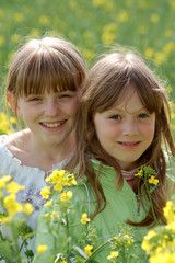 Spring Portrait of girls