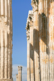 Corinthian columns of Temple of Zeus, Athens poster
