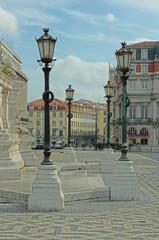Denkmal Restaurationskrieg Praca dos Restauradores - Lissabon