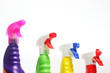 Sprühflaschen mit Spezialreiniger