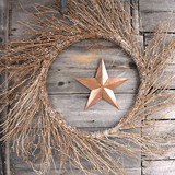 Wreath and Star