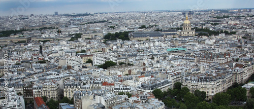 Panorama of Paris. Landscape.