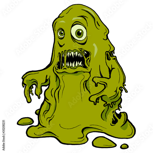 Snot monster by abf, Royalty free vectors #30208231 on Fotolia.com