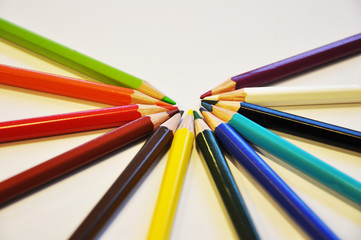 Colored Gay Pencils