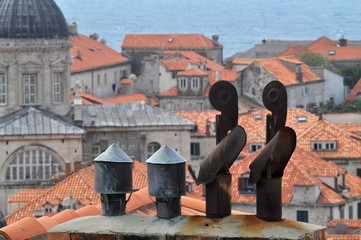 Dubrovnik chimneys