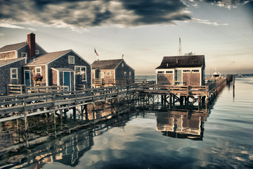 Homes over Water, Nantucket