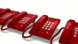 Helpdesk hotline concept