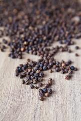 Close-Up Black Pepper