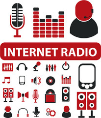 internet radio signs