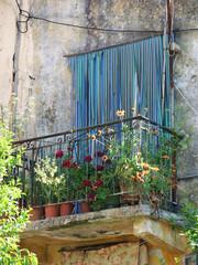 griechischer Balkon