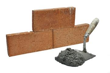 Trabajos de albañilería.