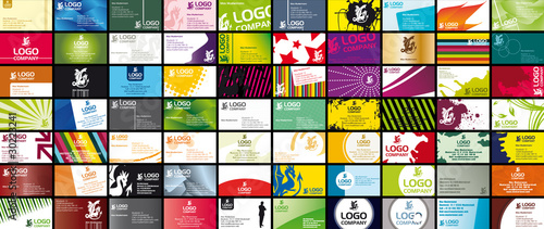 70 Various Business Card Templates - 30223241