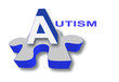 Puzzle piece with Autism title