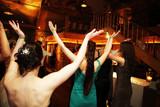 Fototapety tanzende hochzeitsgesellschaft