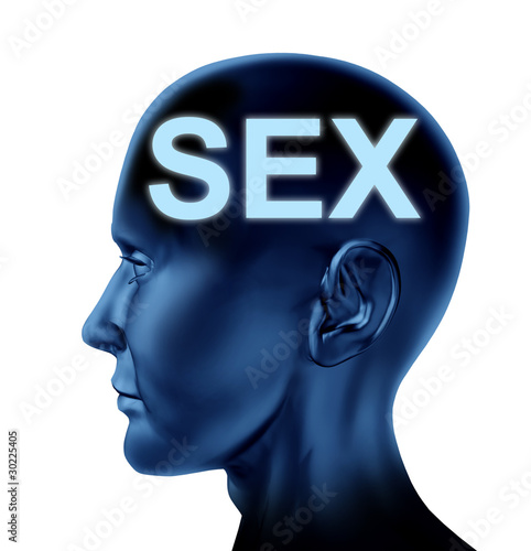 Sex on the mind symbol