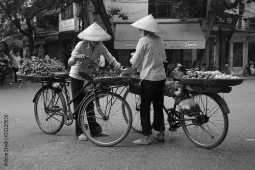 Fruit Sellers 3, Hanoi, Vietnam