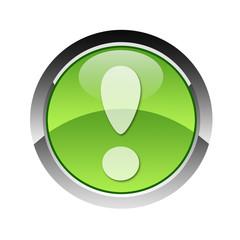 3d Icon Rufezeichen