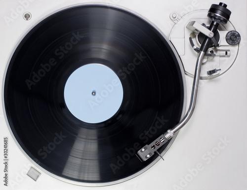 Plattenspieler Draufsicht - 30241685