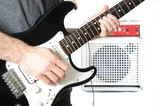 Guitarist and Amp