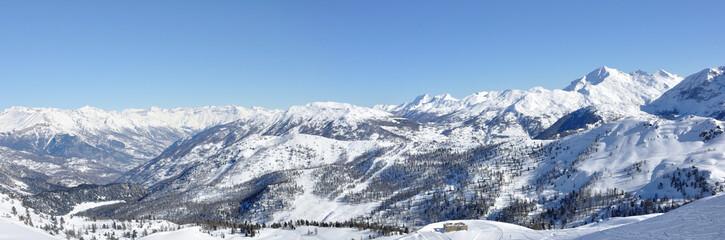 panorama des Alpes 2