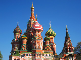 Moscow, St. Basil's (Pokrovskiy) cathedral