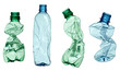 canvas print picture - empty used trash bottle ecology environment