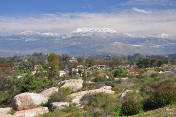 View of Mt. San Jacinto