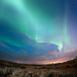 Fototapete Island - Norden - Nacht