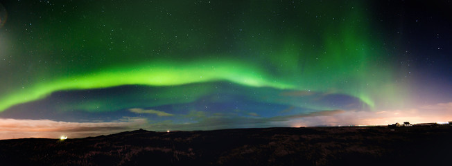 Panoramic Northern Lights