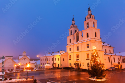 Christian cathedral in Minsk, Belarus